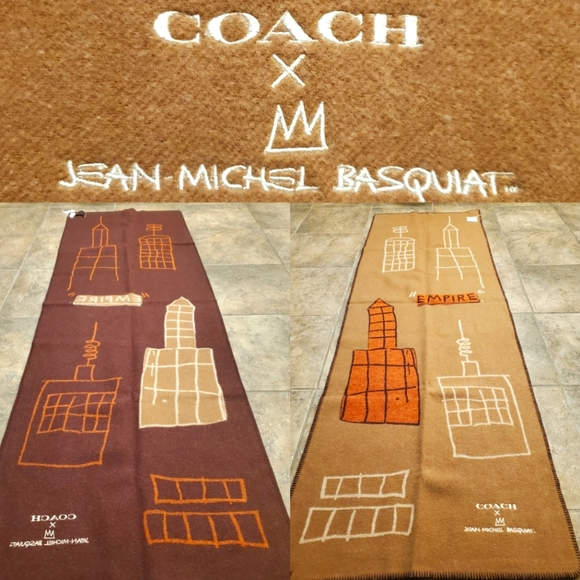 Coach X Jean Michel Basquiat Oversized Scarf
